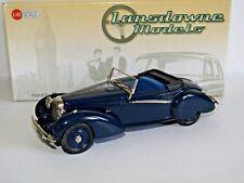 LANSDOWNE MODELS 1939 LAGONDA V12 RAPIDE DROPHEAD COUPE DARK BLUE 1/43 LDM78A