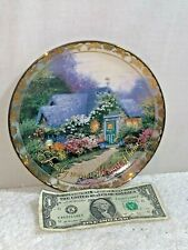 Thomas Kinkade Weathervane Hutch - Places in the Heart Collection 4th Iss.Plate