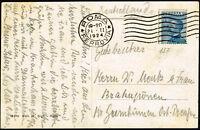 1924 - Cartolina resa franca con cent.60 Michetti (Sassone n.157) - uso isolato