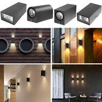 Moderne 7w Mur de LED Luminaire Haut Bas Applique Lampe Intérieur Extérieur