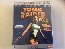 Tomb Raider Gold Eidos Platinum Collection Plus 4 New Levels Pc New in Big Box