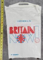 Vintage Gimbels BOAC Britain Now Department Store Plastic Shopping Bag (gtm)