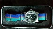 IMPROVED MWC G10 50m with crows foot  watch + Royal Welsh strap
