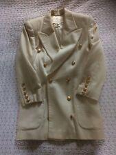 ESCADA ( Margaretha Ley) Vintage Blazer Jacket, Pure Cashmere 10/12.