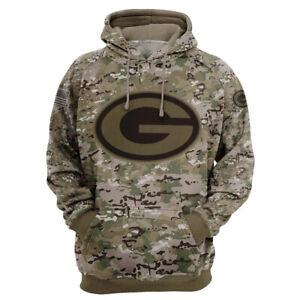 Green Bay Packers Hoodie Hooded Sweatshirt Fans Sports Coat Spring Jacket Gift