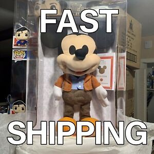 DISNEY Year of the Mouse Collector Plush - A Man and His Mouse - MICKEY PLUSH!!
