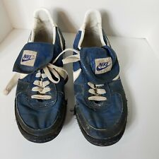 Vintage Early Nike Waffle Leather & Fabric Women's Track Shoes