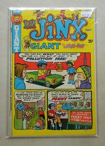 Li'l Jinx Giant Laugh-Out #43 (1973, Archie) 6.5 FN+ WHITE PAGES Final issue!