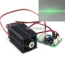 532nm 50mW-80mW Green 12V Focusable Line Laser Diode Module w/ Fan & Driver TTL
