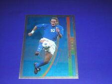 FOOTBALL SOCCER CHAMPIONS STICKERS PANINI AZZURRO MONDIAL 2002 TOTTI ITALIA -MAX