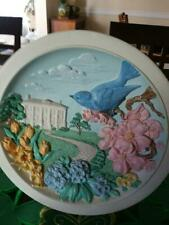 Avon Vintage Plate - Blue Bird with Southern White House in Background - 1994