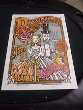 Rock Concert Poster Rasputina Michael Motorcycle El Rey Theater S/N LE-320