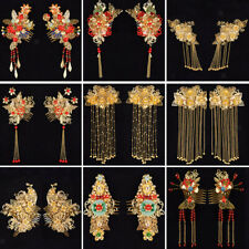 8Pc Vintage Ancient Chinese Hair Clip Accessories Headdress Jewelry Fingings