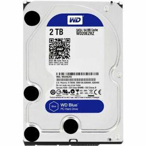"Western Digital WD20EZRZ Blue 2TB  3.5"" Desktop Hard Disk Drive HDD"