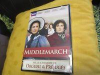 """COFFRET 2 DVD NEUF """"MIDDLEMARCH"""" Juliet AUBREY, Douglas HODGE / BBC"""