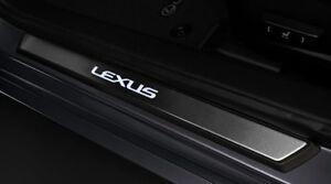 Lexus OEM Factory Illuminated Door Sills 2pc set 2013-2018 ES300H