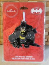 2019 Hallmark Flat Metal Christmas Ornament DC Comics Batman New