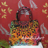 New Indian Mandala Multicolored Shoulder Handbag Cotton Hippie Women Purse Bag