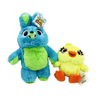 Funny Toy Story 4 Bunny And Duck Cute Soft Plush Stuffed Doll Kids Toys Gift