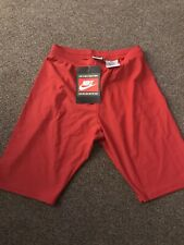 Nike Mens Lycra Cycling/Sport Shorts Red Brand New Size Large