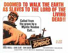 Plague Of Zombies Poster 01 A4 10x8 Photo Print