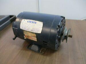 Leeson Gearmotor 101191-00 .5HP 1800 RPM 115V 1Ph 60Hz Used