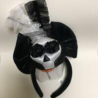 Tokyo Disney Resort Headband Haunted Mansion skeleton Ears Plush Halloween 2019