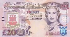 More details for p31a gibraltar 2004 twenty pounds banknote in mint condition