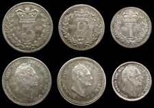 More details for william iv 1832 partial maundy set - threepence, twopence, penny