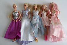 Lote De Muñecas Barbie Hermoso Vestido