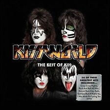 KISS (KISSWORLD - VERY BEST OF KISS CD - SEALED + FREE POST)