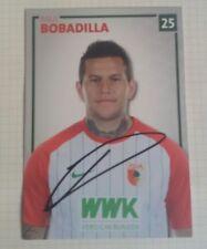 Raul Bobadilla (FC Augsburg 2017/2018) Borussia Mönchengladbach Abgang signiert