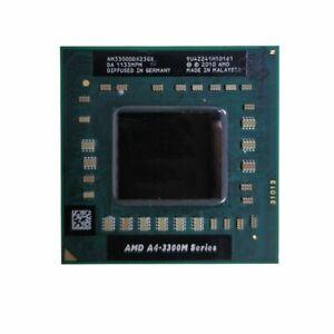 AMD A4-3300M A4 3300M 1.9GHz AM3300DDX23GX Processor CPU Socket FS1 Notebook DE