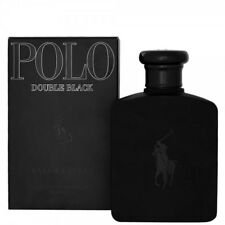 POLO DOUBLE BLACK * Ralph Lauren 4.2 oz / 125 ml EDT Men Cologne Spray