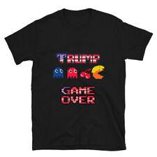 Game Over, Funny Political Trump, Video Gamer Humor ,Joke -Sleeve Unisex T-Shirt