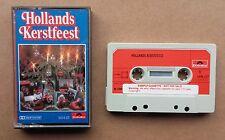 Cassette Various - Hollands Kerstfeest Dutch Polydor Kerstmis Polka Nm