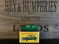 matchbox regular wheels no.64B-1.Version mint E-3 Box excellent 1966/67