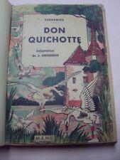 DON QUICHOTTE  / CERVANTES / FRAIPONT / GRANDVILLE / GIRARDET  / MAME 1933