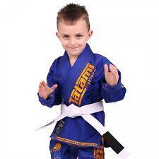 Tatami New Meerkatsu Kids Animal BJJ Gi Royal Blue Uniform - Free White Belt