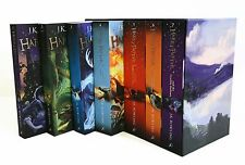 Harry Potter The Complete Boxed Collection J.K Rowling 7 Books Box Set