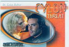 Battlestar Galactica Premiere Cylon Threat Chase Card CT9