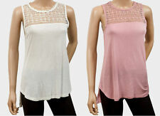 H&M Hip Length Polyester Patternless Tops & Shirts for Women