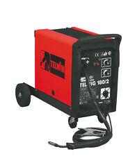 TELWIN TELMIG 180/2 TURBO SALDATRICE A FILO CONTINUO MIG MAG GAS 230V COD.821055