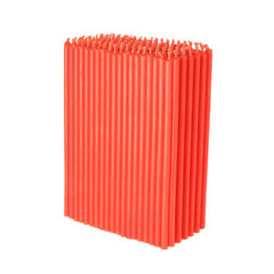 1000g (250 pcs.) Red altar candles thin Easter candles length 16 cm high quality