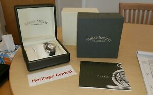 Armand Nicolet Hunter Date Automatic Watch 9040A-NR-P742NR9  NEW!~TAGS!~L@@k!