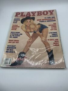 Vintage PLAYBOY MAGAZINE July 1992 Madonna Show Off At The Beach Pamela Anderson