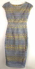 ASOS Womens Size US 00 UK 2 Crochet All Over Bodycon Dress Lined Zipper Back