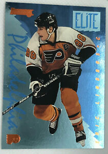 1995-96 Donruss LINDROS Elite Series Insert /10000 #8 Philadelphia Flyers ERIC