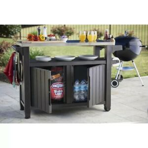 Keter Anthracite Bar Table
