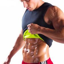 UK Men Sauna Shirts/Vest Tank Top Hot Sweat Slimming Body Shaper for Weight Loss
